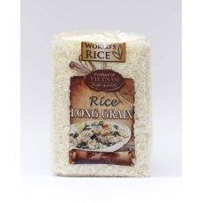 Рис World`s Rice длиннозернистый Вьетнам 500г