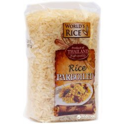 Рис World`s Rice пропаренный 500г,  World`s Rice, Каши и крупы