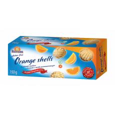 Печенье Balviten масляное с апельсиновым кремом 150г