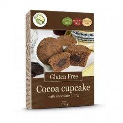 Кексы GFL с какао и шоколадной начинкой 210г,  GFL, [category_name]