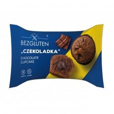 Кекс Bezgluten с шоколадной начинкой 60г