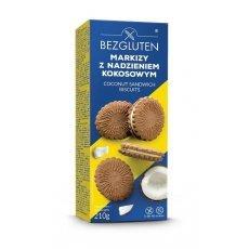 Печенье Bezgluten с кокосовой начинкой Маркизы 210г