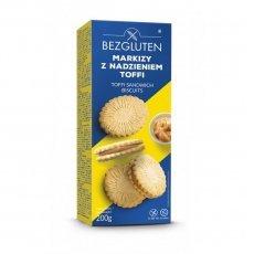 Печенье Bezgluten с начинкой тоффи Маркизы 200г