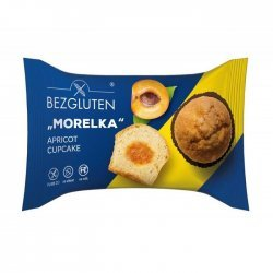 Кекс Bezgluten с абрикосовой начинкой 60г,  Bezgluten, Кексы