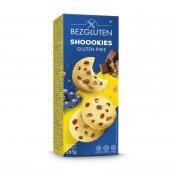 Печенье Bezgluten с кусочками молочного шоколада и изюмом 165г