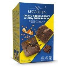 Кекс Bezgluten шоколадный с цедрой апельсина 245г