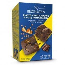 Кекс Bezgluten шоколадный с цедрой апельсина 245г,  Bezgluten, Кексы