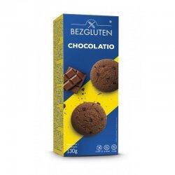 Печенье Bezgluten шоколадное 130г,  Bezgluten, Печенье