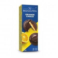 Печенье Bezgluten с апельсиновым желе в шоколаде 150г