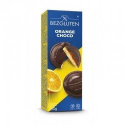 Печенье Bezgluten с апельсиновым желе в шоколаде 150г,  Bezgluten, Печенье