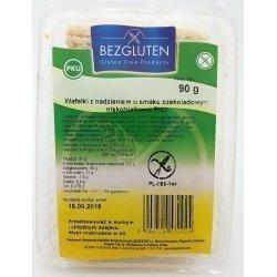 Вафли Bezgluten с шоколадной начинкой PKU 90г,  Bezgluten, Кондитерские изделия