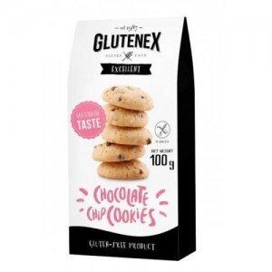Печиво Glutenex із шматочками шоколаду 100г