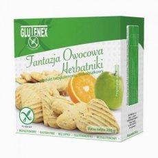 Печенье Glutenex фруктовая фантазия PKU 200г