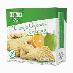 Печенье Glutenex фруктовая фантазия PKU 200г,  Glutenex, Печенье