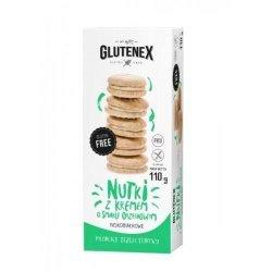 Печенье Glutenex с ореховым кремом PKU 110г,  Glutenex, Печенье
