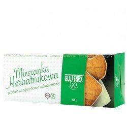 Печенье Glutenex ассорти с глазурью из белого шоколада PKU 120г,  Glutenex, [category_name]