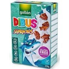 Печенье Gullon акулы 250г
