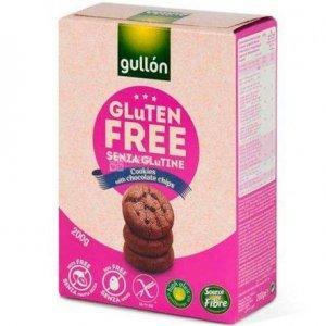 Печенье Gullon мини - галеты с кусочками шоколада 200г