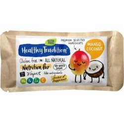 Батончик Healhty Tradition с манго и кокосом 34г,  Healthy Tradition, Кондитерские изделия