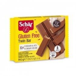 Вафли Dr.Schar в шоколаде 66г (3шт),  Dr. Schär, Вафли