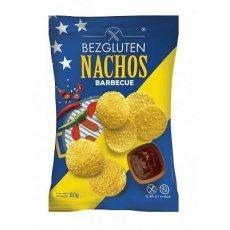 Чіпси Bezgluten Начос зі смаком барбекю 80г