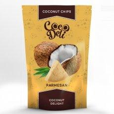 Чипсы кокосовые Coco Deli с сыром Пармезан 30г