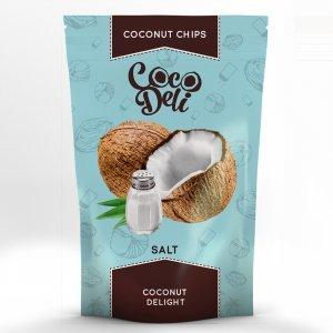 Чипсы кокосовые Coco Deli соленые 30г