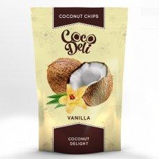 Чипсы кокосовые Coco Deli с ванилью 30г