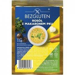 Бульон Bezgluten куриный c макаронами PKU 11г,  Bezgluten, Низкобелковые