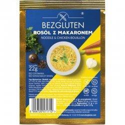 Бульон Bezgluten куриный с макаронами 22г,  Bezgluten, Масло, соусы и специи
