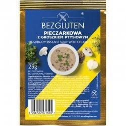 Суп Bezgluten с шампиньонами и шариками из слоеного теста 25г,  Bezgluten, Масло, соусы и специи