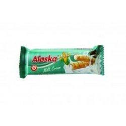 Палочки Alaska кукурузные с молочным кремом 18г,  Alaska, Батончики