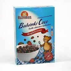 Завтрак Balviten шарики со вкусом какао 140г
