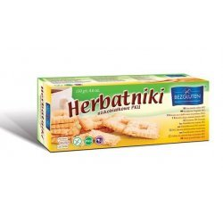 Печенье Bezgluten к чаю PKU 130г,  Bezgluten, Кондитерские изделия
